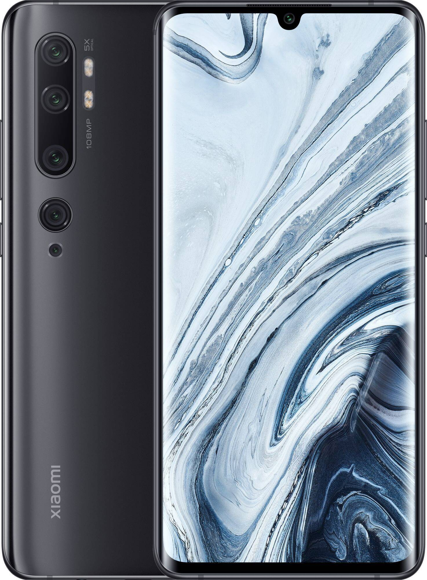 Смартфон Xiaomi Mi Note 10 6/128GB Midnight Black (Черный)